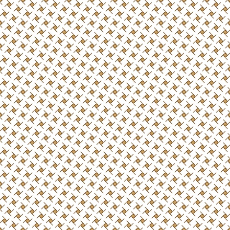 Seamless repeated pattern dot and lines in brown