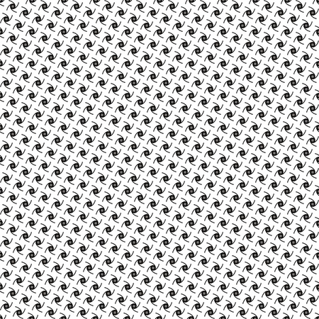 Seamless repeated dot and lines pattern in black