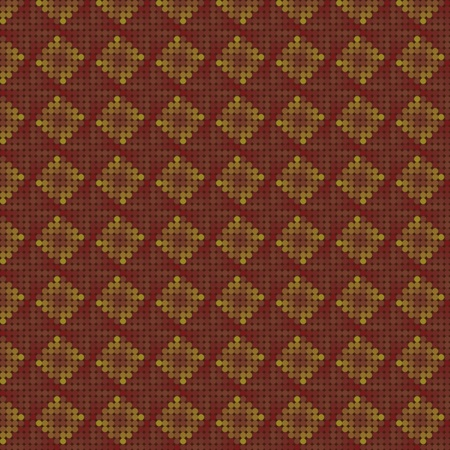 Seamless repeated pattern with brown dot pixels