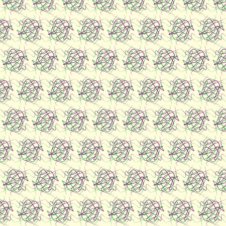 Seamless repeated scribble pattern
