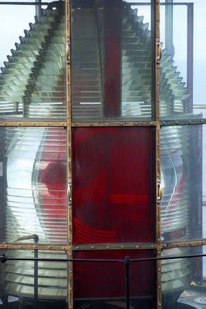 lighthouse detail in Oregon, United States