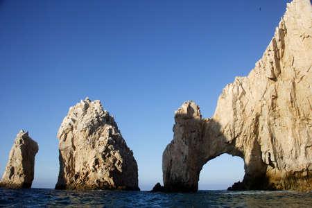 the arch of Cabo San Lucas, Baja California Sur, Mexico