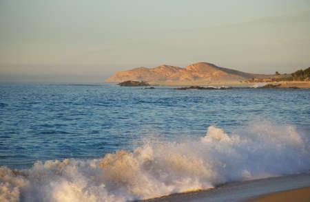 beach in Los Cabos in Baja California Sur in Mexico