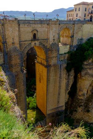 Puente Nuevo birdge in Ronda, Andalusia, Spain