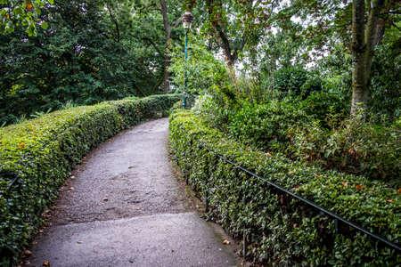 Jardin des Plantes garden a public park in Toulouse France Europe