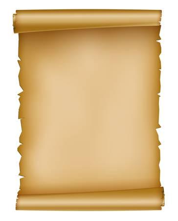 Illustration pour illustration of old paper sheet - image libre de droit