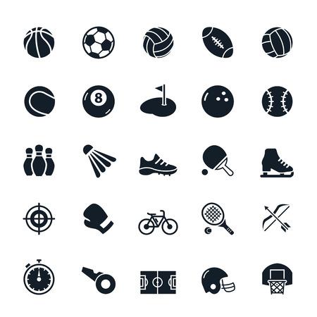 Ilustración de Sport icons illustration - Imagen libre de derechos