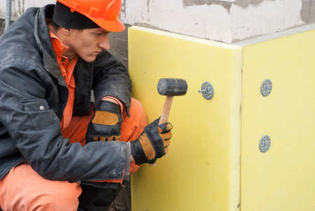 thermal insulation of the foundation slabs of extruded polystyrene