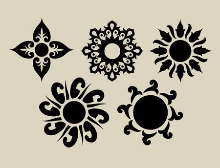 Flowers 2  Floral element for textile design or any design you want