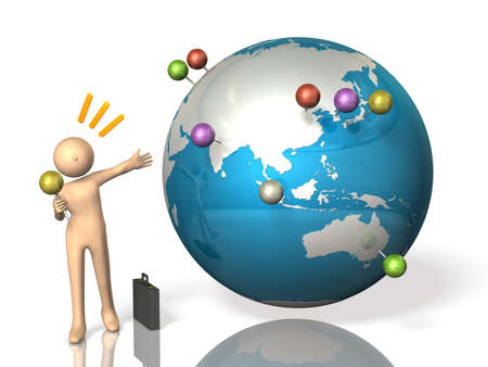 Overseas business trip