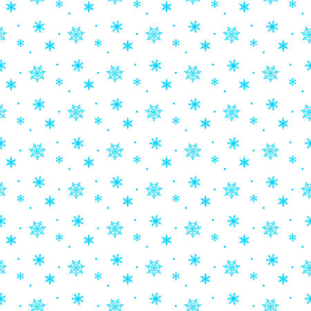 A snowflake background vector illustration.