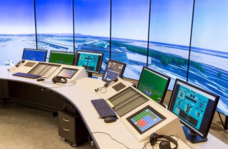 Bulgarian Air Traffic Services Authority (BULATSA) control center.