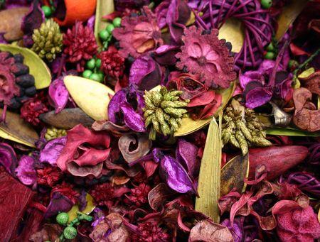 pot pourri violette