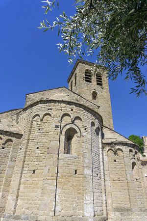 Church of Escales, romanesque architecture in aude, France