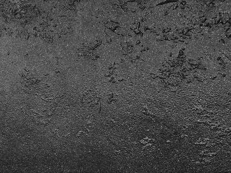 Photo for Gray texture of wet asphalt on the road, wet asphalt texture - Royalty Free Image