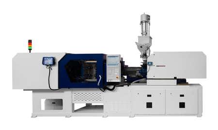 Photo pour Machine for manufacture of products from plastic extrusion - image libre de droit