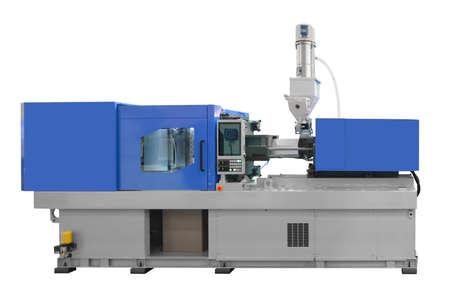 Photo pour Production machine for manufacture products from pvc plastic extrusion technology - image libre de droit