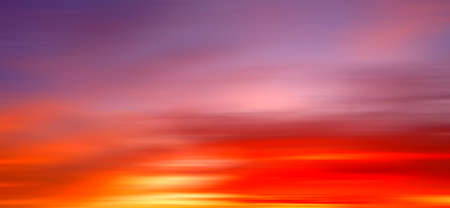 Gorgeous Panorama twilight sky and cloud at morning background motion blur image