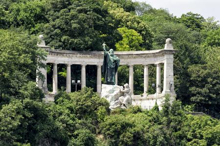 St. Gellert Statue, Budapest, Hungary