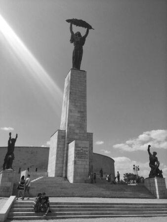 Liberty Statue At Gellert Hill, Budapest, Hungary