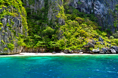 Tropical paradise islands, rocks around El Nido, Philippines
