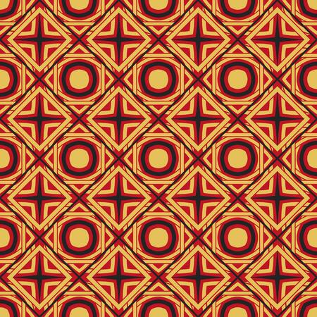 Illustration pour Vector Asian Geometric Pattern - image libre de droit