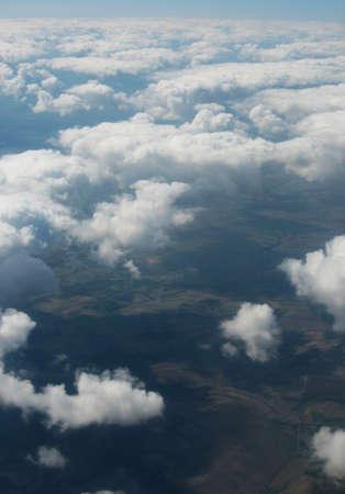 Photo pour high above the clouds - image libre de droit