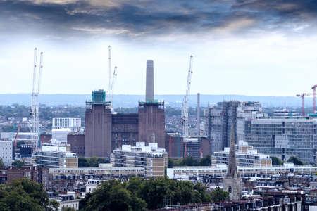 Battersea power station demolition.