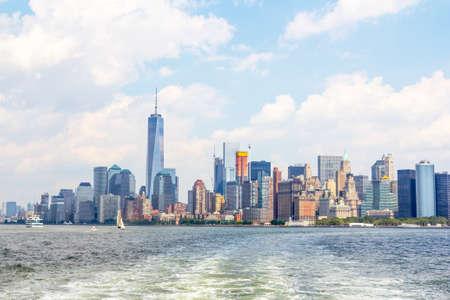 Foto für Manhattan new skyline. - Lizenzfreies Bild