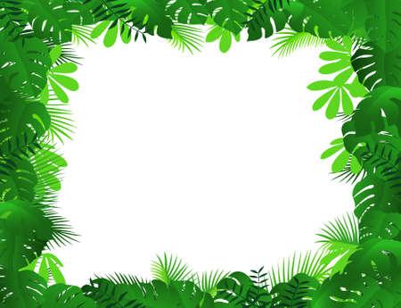 Ilustración de forest background - Imagen libre de derechos
