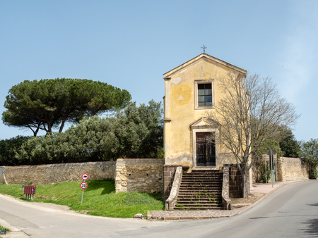 Church of St. Ursula in Sassari, Sardinia island, Italy