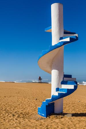Watchman's tower at the Atlantic coast near Safi, Morocco