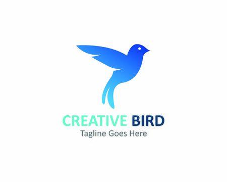 Illustration pour Creative logo design Bird vector template icon - image libre de droit
