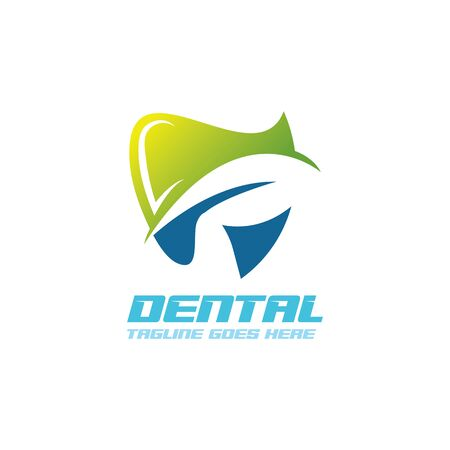 Foto per Dental care logo Template vector illustration icon design - Immagine Royalty Free