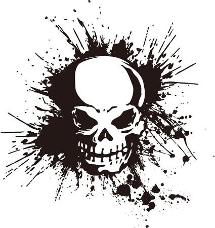 splatter and the skull