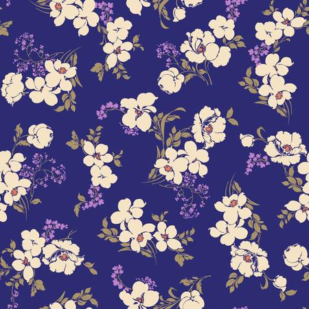 Illustration pour Abstract flower pattern - image libre de droit