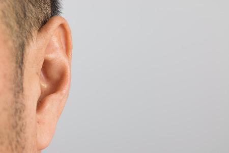 Foto für Close up of man ear - Lizenzfreies Bild