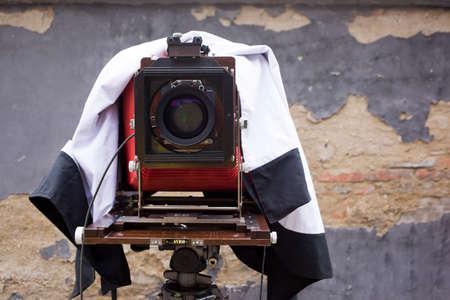 Large old camera