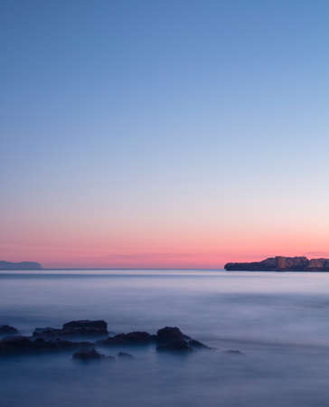 Sunrise calmly
