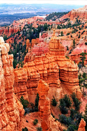 bryce red rock formations