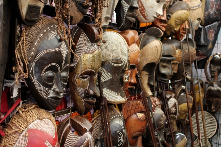 Many African Masks