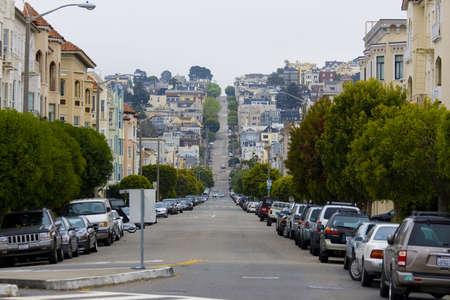 San Francisco cityscape in California