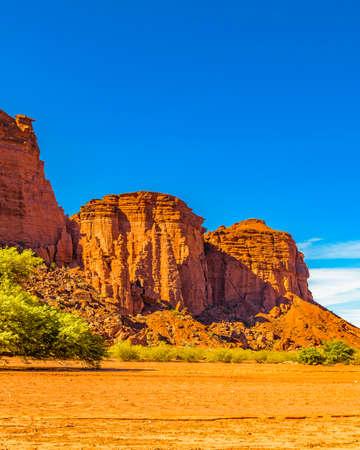 Foto de Day landscape scene at talampaya national park, la rioja province, argentina - Imagen libre de derechos