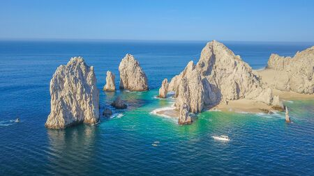 Photo pour Aerial view of Cabo San Lucas - image libre de droit