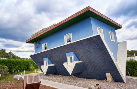 Photo pour House on the head at the Baltic Sea. Usedom Island in Mecklenburg-Vorpommern Germany. - image libre de droit