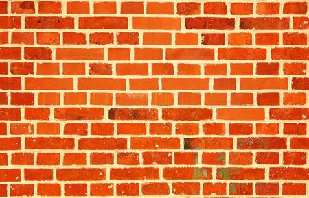 Photo pour Vintage red brick wall as a background. - image libre de droit