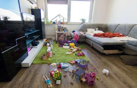 Foto de Messy room - Imagen libre de derechos