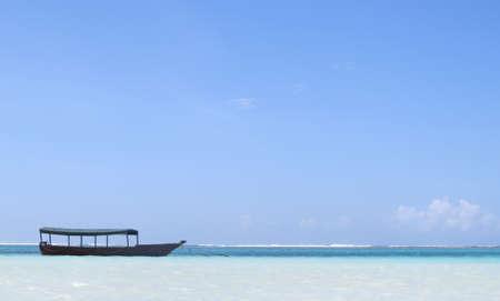 The beach of Zanzibar island
