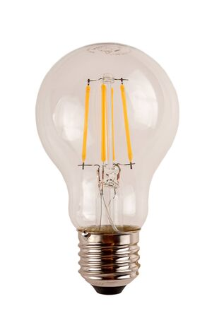 Photo for modern led light bulb for household lamps, energy-saving and eco-friendly technology - Royalty Free Image