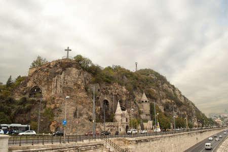 The Gellert Hill in Budapest  Hungary